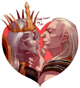 Xul x Leoric : Valentine's Day by phoebecn