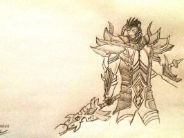Jarvan IV the Examplar of Demacia by SighsOnWindyDays