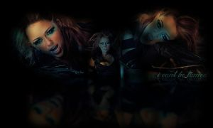 can't be tamed wallpaper by iriina