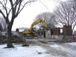 Burnt Demolition Site 1 by FantasyStock