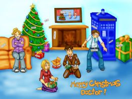 Merry Christmas Doctor by sailorstarnite