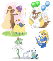 Pokedump pt 2 by roshambxo
