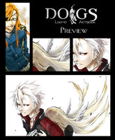 DOGS artbook preview by einiv