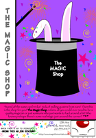 The Magic Shop Ad by Wolfs-Angel17