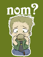 Colored: BurgerNom by EmonyJade