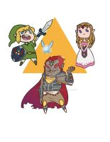 WIP: LoZ Magnets by Kauritsuo