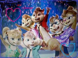 The Chipmunks and the Chipettes Wallpaper by Angelgirl10