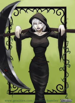 lil miss death girl by thevampiredio