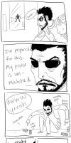 You unprepared, Adam Jensen by AmsterAmy