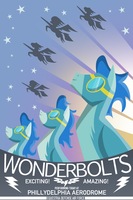 Wonderbolts Poster by anarchemitis