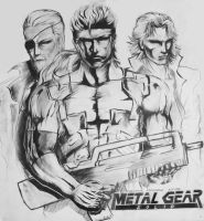 Metal Gear Solid by LiquidsnakE4