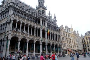 Grand Place by EvBowie