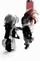 Chucky and Tiffany II by Arc-Elline