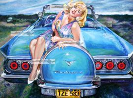 miss monroe and the thunderbird by aramismarron