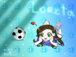 Loreta - the Football Lover by Nerutis