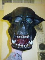 ork latex mask 2011c-2 by damocles-shop