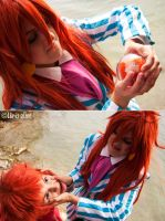 Ponyo wants to be human too by Liv-is-alive