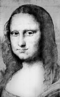 Gioconda study by SILENTJUSTICE