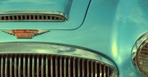 Austin Healey detail by LiveInPix