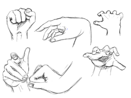 Hand Study. by cherry-burlesque