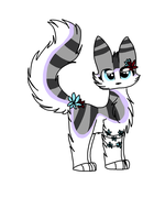 Character for IcyPrintKitten by snowgraywhite