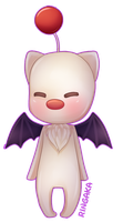 Final Fantasy Chibi Set [1/3] Moogle by RingaButt
