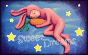 Sweet Dreams Bunny by catferret