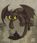 Toothless...again by KetsuoTategami