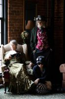 Pan Wilson's Steampunk Family by Digital-Snapshots