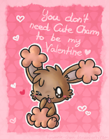 Buneary Valentine by fuwante-chan