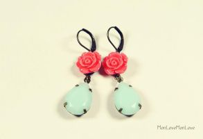 Candy Earrings by MonLoveMonLove