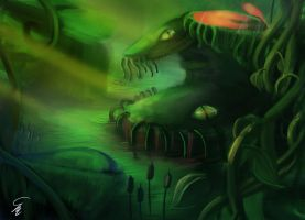 Swamp Hunters by SurrealMime