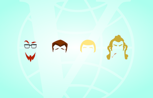 Minimalist Venture Bros by LaggyCreations