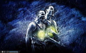 Golden State Warriors Splash Brothers Wallpaper by tmaclabi