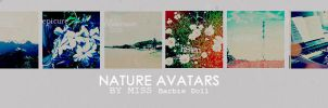 nature avatars by Miss-BarbieDoll