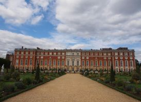 Hampton Court Palace London by CeaSanddorn
