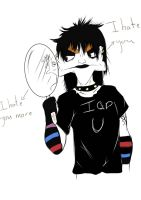 emo I hate everything by All-in-cash-Khan