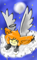 Fluffy clouds are fluffy. by xXShellBellXx