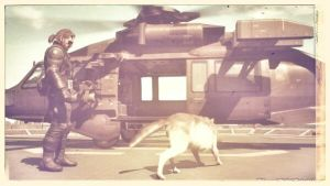 MGS 5 (old photo style) by tovarishcomrade