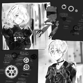 NieR: what are those [B]lindfolds for by ctnplant