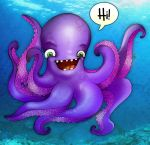 Octopus Says Hello by Bellarific