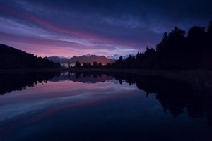 mount cook in the mirror by Katoman