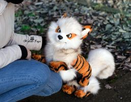 Poseable toy Commission  Arcanine