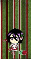 -Chibi Christmas Rukia. by Leeleechanlee