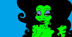 Miss Le frog from flushed away by Jelenadbz