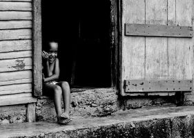 Little Dominican child by mdsk21