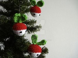 Radish Ornaments by MoonYen