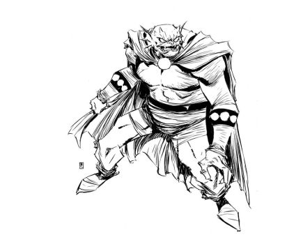 Etrigan by BChing