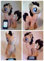 doctor whooves plush (for sale) by LRK-Creations