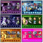 MLP Trainer Cards by PerfectZanderSanchez